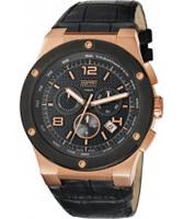 Buy Esprit Mens Phorcys Black Watch online
