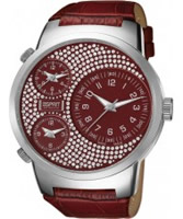 Buy Esprit Ladies Polydora Red Watch online