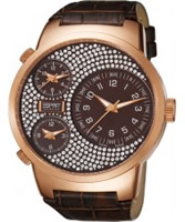 Buy Esprit Ladies Polydora Brown Watch online