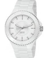 Buy Esprit Ladies Eirene All White Watch online