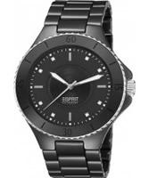 Buy Esprit Ladies Eirene All Black Watch online