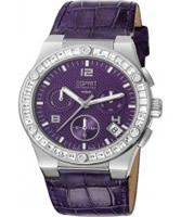 Buy Esprit Ladies Pherousa Purple Watch online