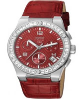 Buy Esprit Ladies Pherousa Red Watch online