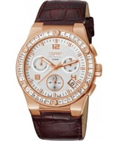 Buy Esprit Ladies Pherousa White Brown Watch online