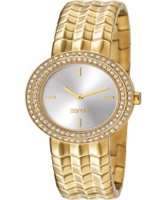 Buy Esprit Ladies Moonlite Gold Crystals Set Watch online