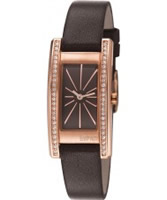 Buy Esprit Ladies Vivid Crystal Brown Watch online