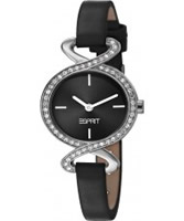 Buy Esprit Ladies Fontana Soft Crystal Black Watch online