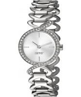 Buy Esprit Ladies Fontana Crystal Silver Watch online