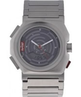 Buy Levis Unisex Grey Dial Stainless Steel Bracelet Chronograph Watch online