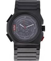 Buy Levis Unisex Grey Dial Black Steel Bracelet Chronograph Watch online