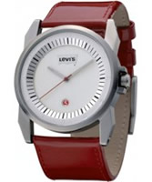 Buy Levis Ladies White Red Watch online