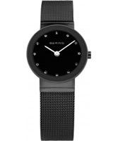 Buy Bering Time Ladies Black Mesh Watch online
