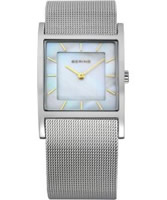 Buy Bering Time Ladies Silver Mesh Watch online