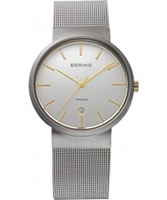 Buy Bering Time All Silver Mesh Watch online