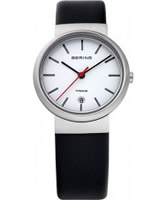 Buy Bering Time Ladies White Black Watch online