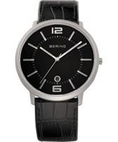 Buy Bering Time Mens All Black Watch online