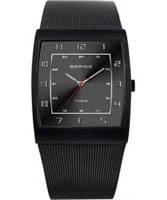 Buy Bering Time Mens Black Mesh Watch online