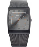 Buy Bering Time Mens Grey Mesh Watch online