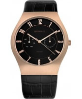 Buy Bering Time Mens Black Multifunction Watch online