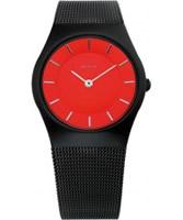 Buy Bering Time Red Black Mesh Watch online