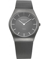 Buy Bering Time All Grey Mesh Watch online