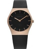 Buy Bering Time Black Mesh Watch online