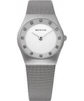 Buy Bering Time Ladies All Silver Mesh Watch online
