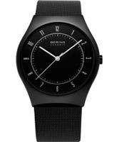 Buy Bering Time Mens Ceramic Mesh Band Watch online