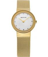 Buy Bering Time Ladies Gold Mesh Watch online