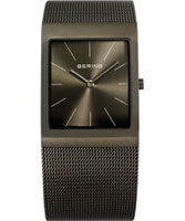 Buy Bering Time Ladies Grey Mesh Watch online