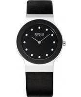 Buy Bering Time Ladies Ceramic Black Watch online