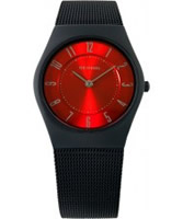 Buy Bering Time Red Black Mesh Watch online