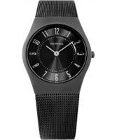 Buy Bering Time Black Grey Mesh Watch online