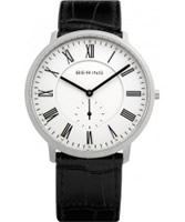 Buy Bering Time Mens White Black Watch online