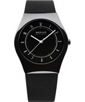 Buy Bering Time Ceramic Black Mesh Watch online