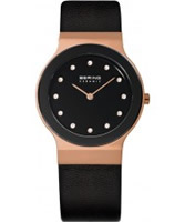 Buy Bering Time Ceramic Rose Case Watch online