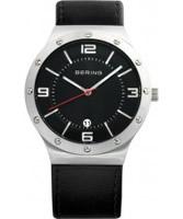 Buy Bering Time Mens Black Mesh Watch online