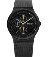 Buy Bering Time Mens Black Multifunction Ceramic Watch online