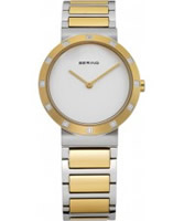 Buy Bering Time Ladies Two Tone Watch online
