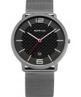 Buy Bering Time Mens Carbon Grey Watch online