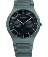 Buy Bering Time Mens Black Multifunction Watch online