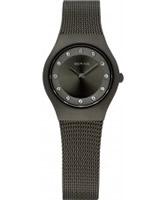 Buy Bering Time Ladies Grey Mesh Watch online