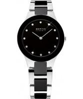 Buy Bering Time Ladies Two Tone Ceramic Watch online