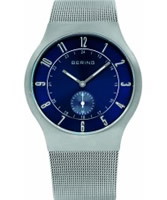 Buy Bering Time Mens Silver Mesh Band Watch online