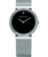 Buy Bering Time Ladies Black and Silver Watch online