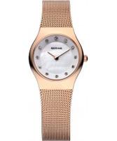 Buy Bering Time Ladies Rose Gold Classic Mesh Watch online