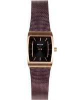 Buy Bering Time Ladies Black Brown Watch online