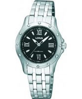 Buy Lorus Ladies Black Steel Watch online