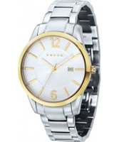 Buy Cross Mens Gotham White Silver Watch online