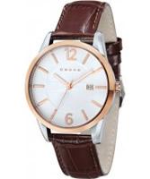 Buy Cross Mens Gotham White Brown Watch online